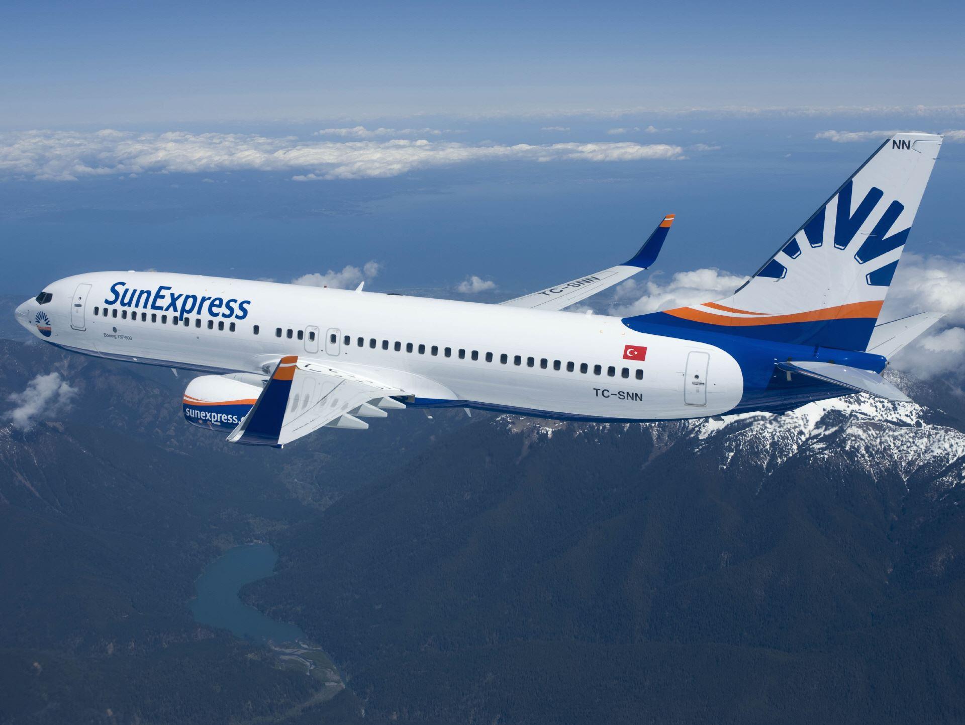 Sunexpress Flugzeug